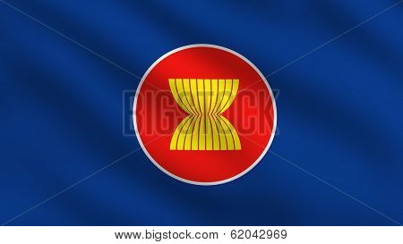 Asean Economic Community (aec) Flag