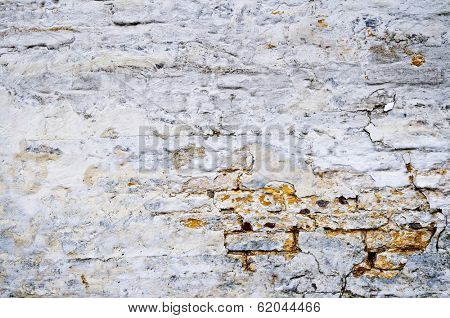 Old weathered painted wall for grunge background