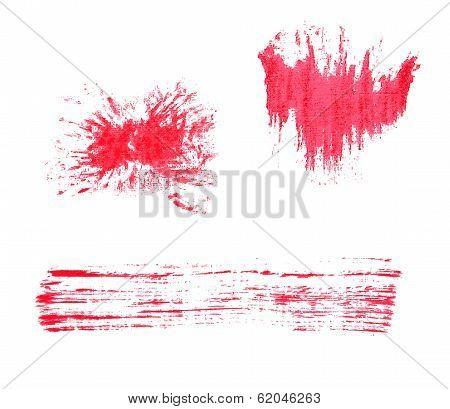 paint brush stroke texture watercolor spot blotch