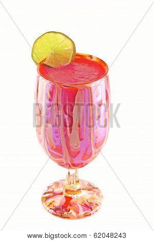 Frozen Strawberry Margarita
