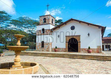 Church In Mesa De Los Santos