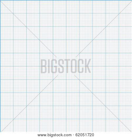 Vector millimeter paper