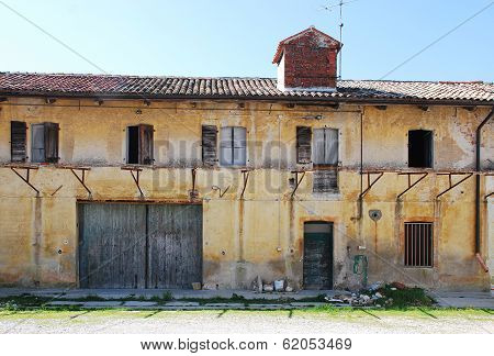 Derelict Friulian Agricultural Building
