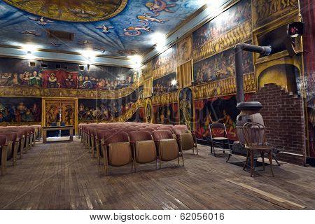 Inside The Beautiful Amargosa Opera House