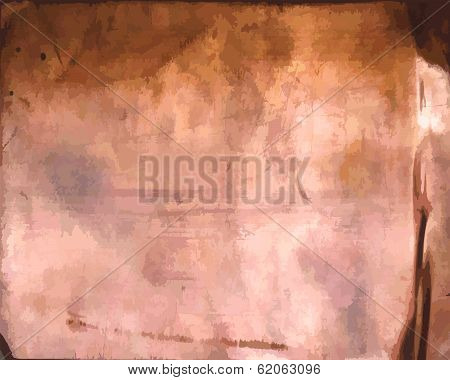 Copper metal - background