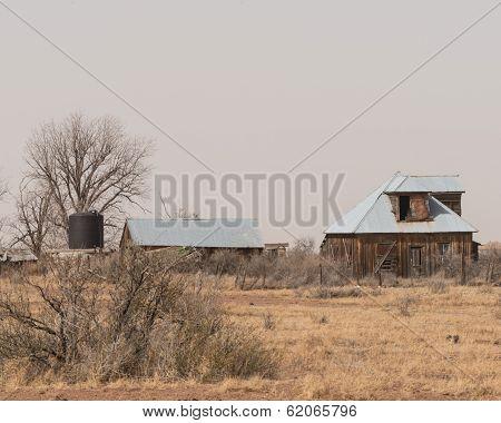 Old Farmstead in Texas