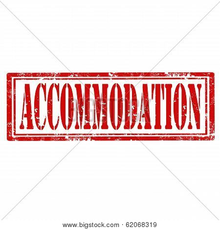 Accommodation stamp