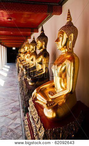 Golden Buddha, Wat Pho