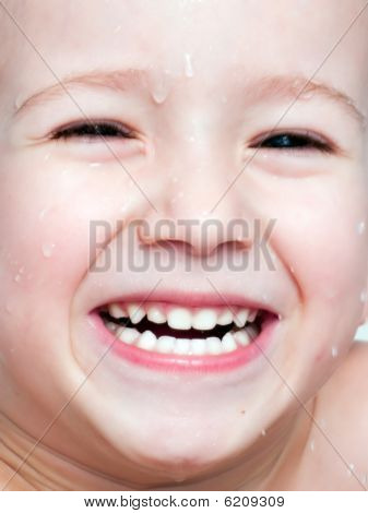 Little Child Smiling