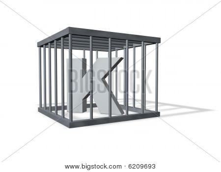 Big K In A Cage