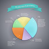 business pie chart template