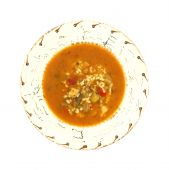 Hot and spicy chicken soup poster