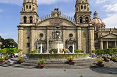 Cathedral in historic  center in Guadalajara, Jalisco, Mexico