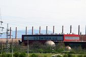 KOSICE - APRIL 25:   U.S. Steel Kosice, s.r.o. in Kosice, Slovakia, on April 22, 2005.  United State