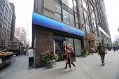 NEW YORK CITY - OCT 17:  Pedestrians walk past a branch of Citibank in Manhattan on Thursday, Octobe