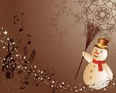 picture of christmas greeting  - Beautiful vector Christmas  - JPG
