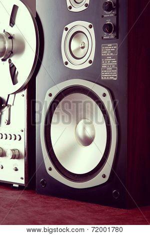 Big Audio Speaker Vintage