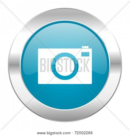 camera internet blue icon