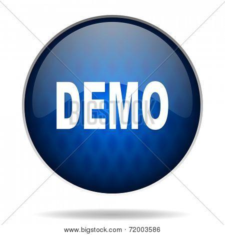 demo internet blue icon
