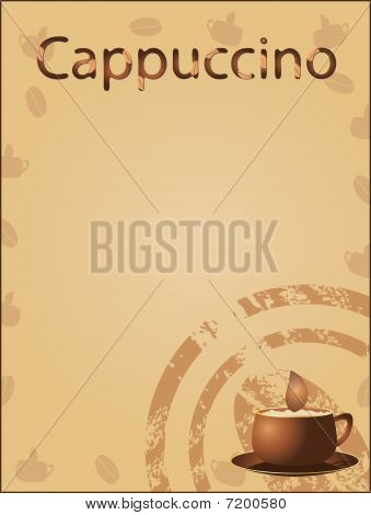 Coffee background (vector)