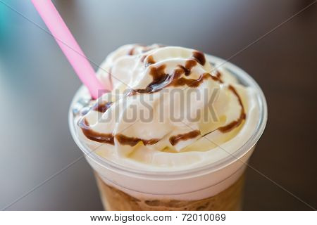 Whip Cream Frappe Coffee