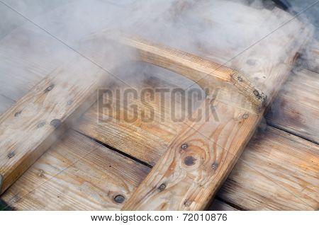 Steamy Wodden Lid