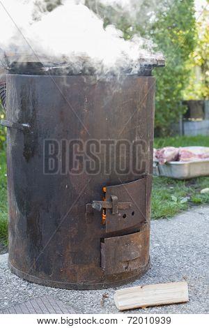 Steamy Cauldron Closeup