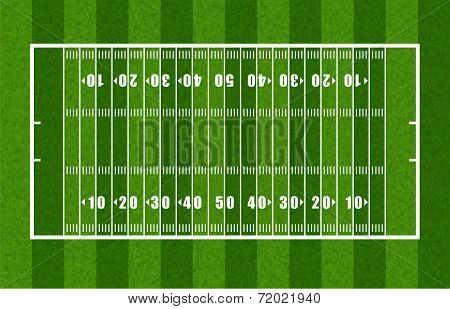 Overview of American Football Field