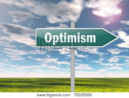 Signpost Optimism