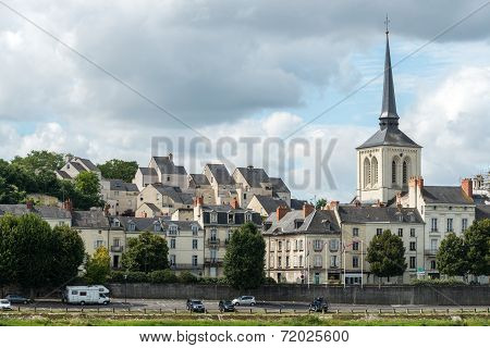 Church Of Saint Pierre In Saumur, Maine-et-loire Department (france)