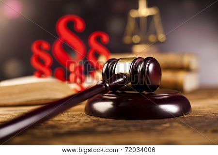 aragraph, law theme, mallet of judge, wooden gavel