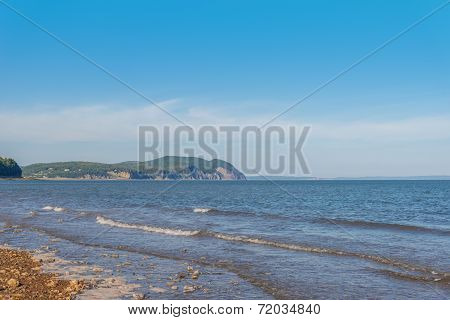 Beautiful View Of Fundy Shore Scenery