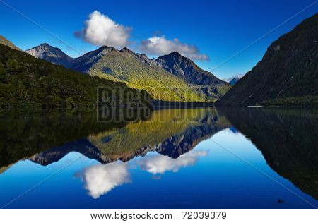 Lake Gunn, Fiordland, New Zealand