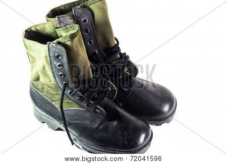 Old Combat Boots