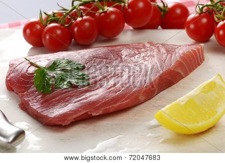 Raw Tuna Fillet