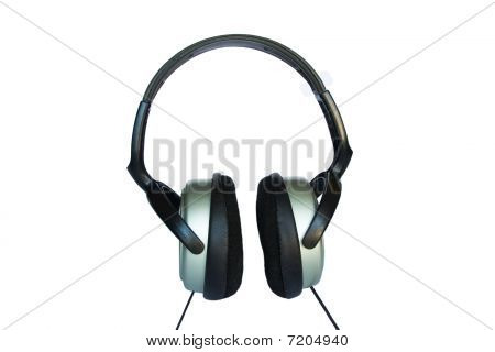 Headphones Isolated