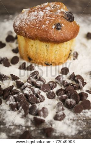 delicious homemade muffin cake dessert cupcake pastry