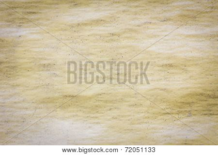 Dirty Old Yellow Plastic Sunblind Background With Dust