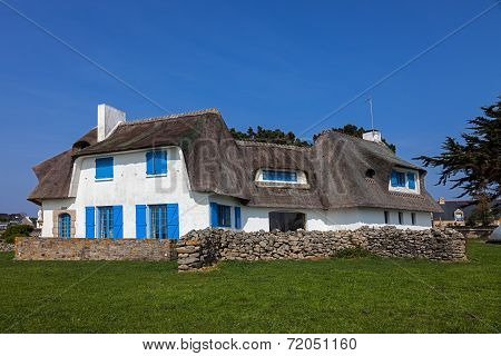 Traditional House In Brittany