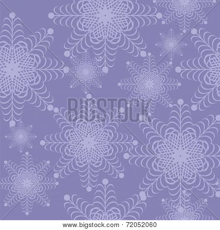 christmass and new year background with snowflakes