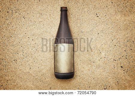 Bottle Message Empty Label
