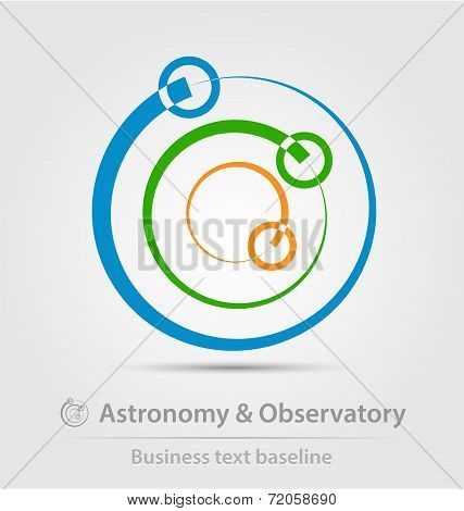 Astronomy And Observatory Business Icon