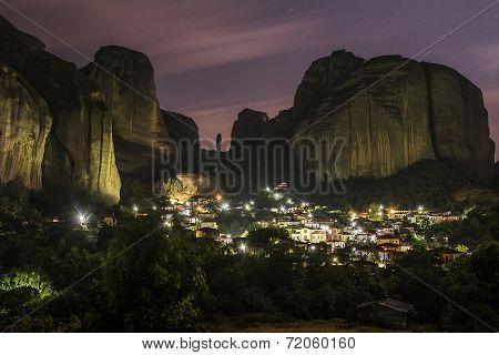Night at Kastraki