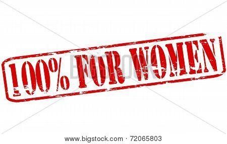 One Hundred Percent For Women
