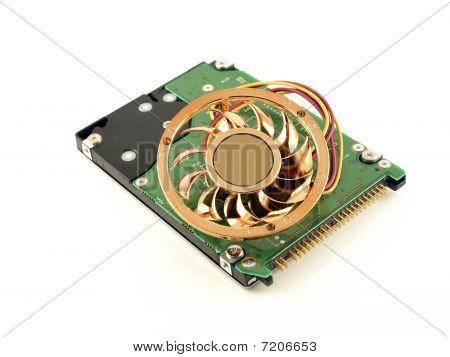 Fan and hard drive