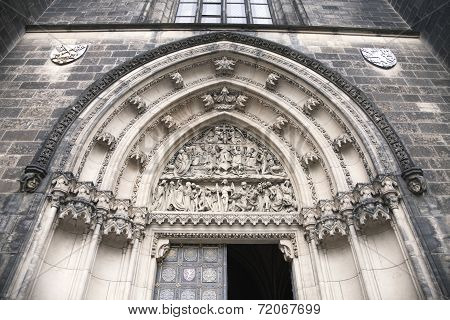 Door Of Saint Peter And Paul Cathedral