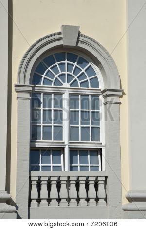 Window in a Yelow House