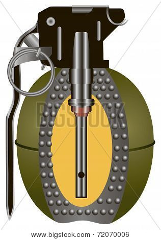 Internal Structure Hand Grenade