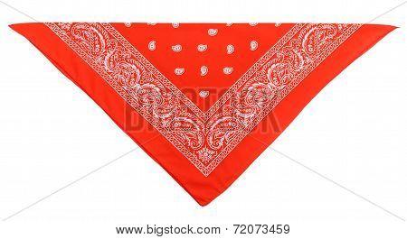 Scarlet  Bandanna (kerchief)