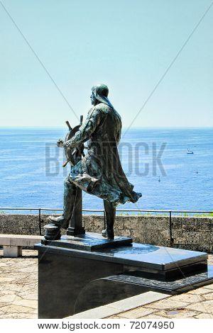 Statue Of Prince Albert I Of Monaco